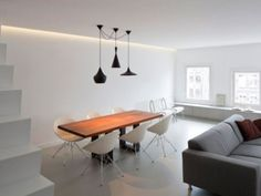 Minimalist is the current trend. Apartment Designs in Minimalist style | Ideas | PaperToStone