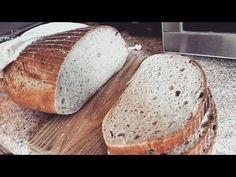 Jak peču kváskový chleba - YouTube Food And Drink, Bread, Make It Yourself, Youtube, Brot, Baking, Breads, Buns, Youtubers