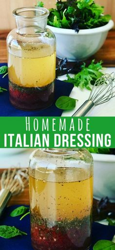 This Zesty Italian Dressing Recipe is a perfect for a summer garden salad. A vinaigrette that's so easy to make, preservative free and you'll probably have all the ingredients in your pantry. My Kraft Copycat Italian Dressing Recipe Dressing For Fruit Salad, Salad Dressing Recipes, Salad Dressings, Vinagrette Dressing Recipe, Herb Dressing Recipe, Salad Recipes, Zesty Italian Dressing Recipe, Sauces, Healthy Italian Recipes