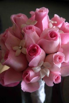 Wedding photo of bouquet