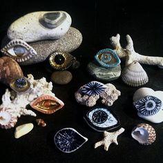 Demetria Chappo - Porcelain Eye Brooches