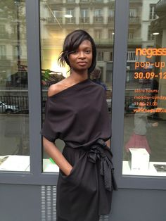 Debra Shaw @ negassi pop up store paris