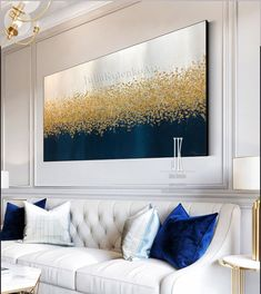 Large Abstract Oil Painting Oversize Painting,Gold Leaf Silver Leaf Painting,Textured Painting Above Bed Decor Large Canvas by Julia Kotenko Large Abstract Oil Painting Oversize PaintingGold Leaf Silver Texture Painting On Canvas, Oil Painting Abstract, Textured Painting, Painting Wallpaper, Silver Leaf Painting, Gold Leaf Art, Glitter Wall Art, Living Room Decor, Bedroom Decor