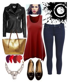 """""""Tuff in flats"""" by saridigital on Polyvore featuring Charlotte Olympia, SHOUROUK, IRO and Michael Kors"""