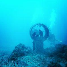 Belén submarino en Radazul