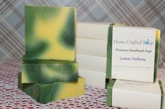 Lemon Verbena Hand Crafted Soap