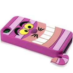 Disney Character Suit Silicone Case for iPhone 4 & 4S-Cheshire Cat