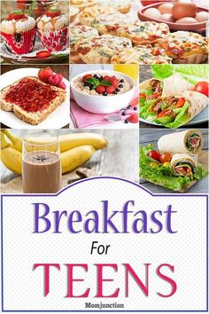 Top 25 Easy And Healthy Breakfast For Teens. Top 25 Easy And Healthy Breakfast For Teens. Is your teen always in a hurry Healthy Breakfast Meal Prep, Healthy Breakfast Casserole, Healthy Snacks, Snacks List, Breakfast Ideas, Healthy Breakfasts, School Breakfast, Dinner Healthy, Edamame