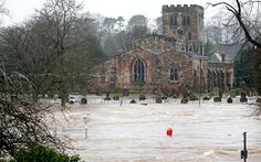 The Environment Agency has issued 17 severe flood warnings across the north of England throughout the weekend and is urging people to check for updates online as its teams maintain local flood defences. Here, the centre of Appleby, Cumbria Weather Wind, Environment Agency, Flood Warning, Flood Damage, Northern England, England And Scotland, Cumbria, Carlisle, Aerial View