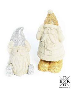 "Dekorative X-MAS Figuren ""Santa Claus"" im 2er Set Jar, Home Decor, Characters, Home Decor Accessories, Sculptures, Xmas, Decorations, Homemade Home Decor, Jars"