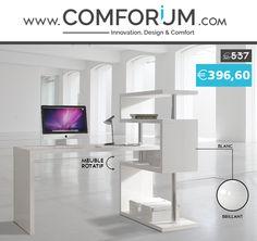 Bureau design rotatif - www.comforium.com  #Design #Actu #Bonplan #Mercredi #Promo #Bureau #Best