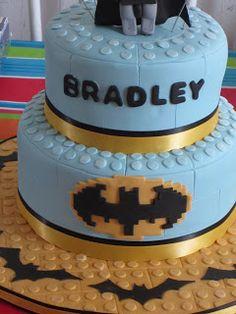 Tortas de J: Batman Lego Cake