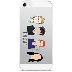 Riverdale iPhone Case 5/5s/6s/7/8/plus/x ($15) ❤ liked on Polyvore featuring accessories, tech accessories, iphone cover case and iphone sleeve case