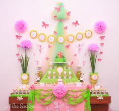 Fairy Garden Birthday Party Package Personalized FULL Collection Set - PRINTABLE DIY - BX15x. $35.00, via Etsy.