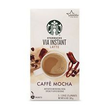 Starbucks Via Instant Caffe Mocha Latte Coffee Cocoa 5 Singles Best By for sale online Starbucks Rewards, Starbucks Store, Starbucks Coffee, Latte, White Chocolate Mocha, Mocha Coffee, Coffee Shop, Espresso Drinks, Instant Coffee