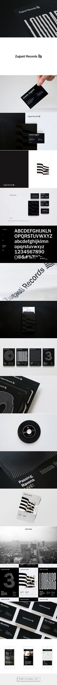 Zugasti Records on Behance - created via https://pinthemall.net