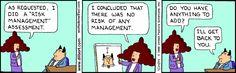 Dilbert on Risk Management