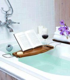 Plateau pour baignoire - plateau pratique pour mettre son petit livre ou sa tablette pour le bain