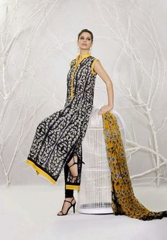 Khaadi Lawn 2014 for Spring Summer Collection from 8th March