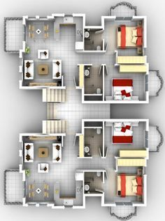 Apartment Building Floor Awesome Model Outdoor Room New In
