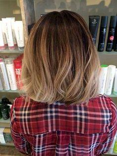 Balyage short hair trends 2017 52 72dpi