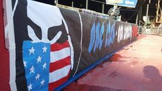 1906 Ultras (San Jose Earthquakes) banner for USMNT.  (One club, one country, one love)