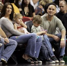 Andre Agassi and Steffi Graffi´s children don´t like to play tennis