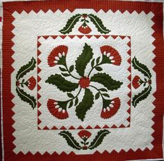 Prettiest Red & Green Quilt