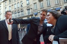 "robfanforlife: ""Rob, being his usual, sweet, generous and gorgeous self. ♥ BD1 Fan Event - Paris Oct 2011 (Source: RPAU) """