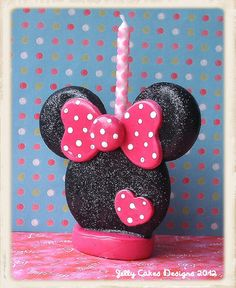 Miss Minnie Keepsake Cake Topper | Flickr: Intercambio de fotos