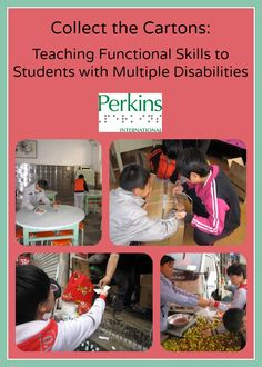 Functional Activities: Collect the Cartons - Teaching functional skills to students with multiple disabilities