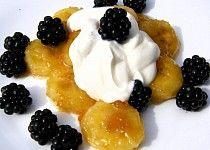 Banán v karamelu Panna Cotta, Pudding, Ethnic Recipes, Food, Party, Dulce De Leche, Custard Pudding, Essen, Puddings