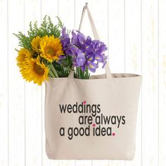 Weddings Tote.