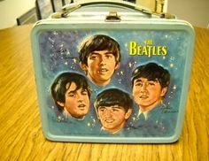 A Moveable Feast: The History of Early and Collectible American Lunchboxes - Soon, every icon that could attract the attention of America's youth were added to lunchboxes, including Snoopy and The Beatles.