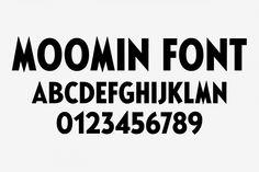 Moomin font