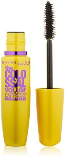 Special Offers - Cheap Maybelline New York The Colossal Volum Express Waterproof Mascara Glam Black [240] 0.27 oz (Pack of 6) - In stock & Free Shipping. You can save more money! Check It (January 24 2017 at 06:40PM) >> https://beautymakeup4me.com/cheap-maybelline-new-york-the-colossal-volum-express-waterproof-mascara-glam-black-240-0-27-oz-pack-of-6/