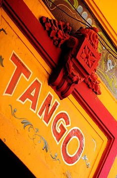I will go to a class, learn the Tango, and dance in Buenos Aires, Argentina Latin America, South America, Argentine Buenos Aires, Southern Cone, Tango Dance, Tango Art, Argentine Tango, Orange You Glad, Orange Crush