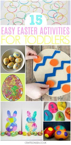 easy easter activities for toddlers #easter #eastercrafts #toddler #kidsactivities #preschool