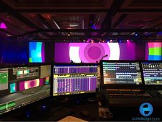 Today's view from #foh. We've been very happy with the silky smooth playback of the #d3 #mediaserver. We built the graphics and are handling #onsite #projectionmapping execution. Built with #cinema4d and #aftereffects. #content #contentcreator #videomapping #projection #productionlife #motiongraphics #c4d #d3technologies by puredezign