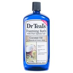 Dr Teal's Pure Epsom Salt Foaming Bath - 34 fl oz