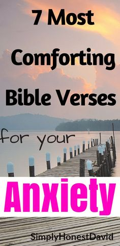 7 Bible Verses for Anxiety. These Bible verses have helped me with my own anxiety!