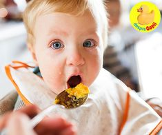 Cute baby boy sitting in highchair eating. Two small children in a kitchen. Nutrition Program, Kids Nutrition, Starting Solids Baby, Basic Food Groups, Baby First Foods, Newborn Baby Care, Salty Foods, Soy Products, Baby Health
