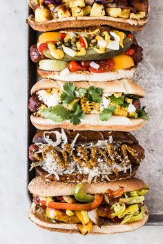 Take the stress out of summertime entertaining with a host's best friend, the ultimate hot dog toppings bar.