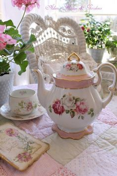 I Like Tea Parties ... they are such a special time for me with our three ... and now four precious granddaughters. I will treasure all the many memories of our times together always.