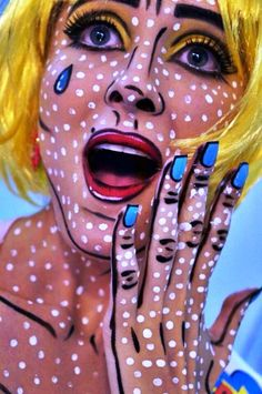 amazing popart makeup ideas