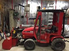 1994 Honda 5518 Awd And All Wheel Steering Tractor With