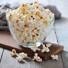 This Sweet Coconut Popcorn Will Help You Avoid Overindulging on Dessert: The following post was originally featured on Peanut Butter Fingers and written by Julie Fagan, who is part of POPSUGAR Select Fitness.