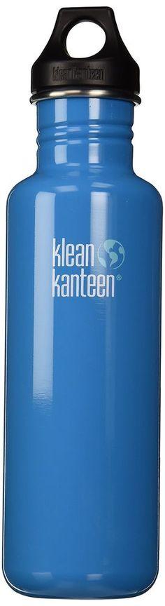 Klean Kanteen Classic Single Wall Stainless Steel Water Bottle with Leak Proo... #KleanKanteen