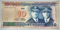 LITUÂNIA 1993. 56. 10 LITU. FE
