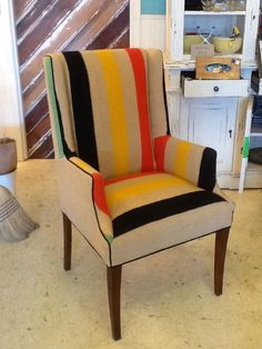 Hudson Bay Blanket Chair